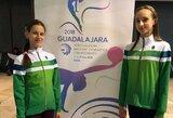 Europos jaunimo meninės gimnastikos čempionate – F.Šostakaitės ir M.Gaiduk startai