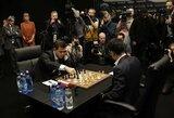 Pamušta akimi žaidęs M.Carlsenas kartu su F.Caruana pagerino pasaulio čempionatų rekordą