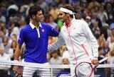 Finaliniame metų ATP serijos teniso turnyre N.Djokovičius ir R.Federeris pateko į vieną grupę