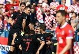 EURO2020: Kroatija namuose susitvarkė su Velsu