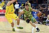 Dviejų žaidėjų vedama Slovėnija patiesė kroatus