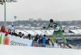 Estijos slidinėjimo čempionate S.Terentjevas pranoko T.Strolią