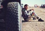 Dakaro ralio pabaiga: daugiau nei 5 valandas stovėjęs V.Žala pasiekė finišą