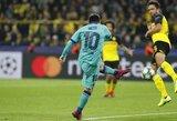 E.Valverde liko patenkintas po traumos aikštėje pasirodžiusio L.Messi surengtu pasirodymu