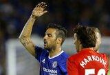 """C.Fabregasas buvo išvytas iš aikštės, bet """"Chelsea"""" nugalėjo """"Liverpool"""""""