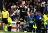 """Marca"": ""Real"" pasiekė susitarimą su D.Van De Beeku"