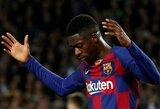 """Desperatiškas """"Barcelona"""" noras atsikratyti O.Dembele: ketina parduoti už ženkliai mažesnę sumą?"""