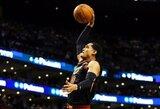 """Rezultatyvus """"Cavaliers"""" naujokų debiutas sugadino P.Pierce'o šventę"""
