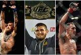 Rimti pokyčiai UFC reitinge: C.McGregoras krito į seniai neregėtas žemumas, C.Nurmagomedovas pakilo į rekordinę poziciją