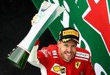 """Čempionato lyderiu tapęs S.Vettelis iškovojo pirmą """"Ferrari"""" pergalę Kanadoje nuo M.Schumacherio laikų"""