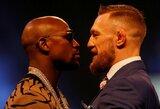"""F.Mayweatheris apie rasizmą: """"Kova su C.McGregoru yra už visus juodaodžius visame pasaulyje"""""""