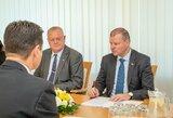 """Ministras Pirmininkas: """"Lietuva deramai pasirengs pasaulio salės futbolo čempionatui"""""""