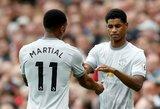 """""""Manchester United"""" pradėjo derybas su M.Rashfordu dėl naujo kontrakto"""