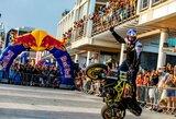 Žmonės išrinko 5 miestus, kuriuose pasirodymus surengs motoakrobatas A.Gibieža