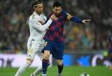 """S.Ramosas norėtų, kad L.Messi liktų """"Barcelonoje"""": """"Visada norisi įveikti geriausius, o jis yra vienas iš geriausių pasaulyje"""""""