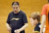 Jauniesiems stalo tenisininkams – olimpinių čempionų trenerio iš Kinijos pamokos