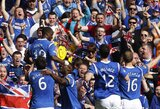 "Įspūdingame Glazgo derbyje pergalę šventė ""Rangers"""