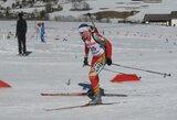 Kuklūs lietuvių rezultatai trečiajame Europos biatlono taurės etape Italijoje