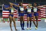 Amerikiečiai užsitikrino pirmą vietą olimpiados medalių įskaitoje