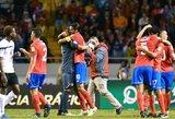 Pasaulio čempionato atrankoje svarbią pergalę iškovojo Kosta Rika (+ draugiškos rungtynės)
