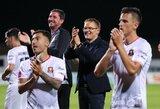 V.Dambrausko komanda naująjį sezoną pradėjo įspūdinga pergale, S.Olberkis debiutavo Airijoje