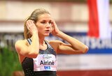 Formą gerinanti A.Palšytė Vokietijoje užėmė penktą vietą
