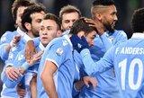 """""""Lazio"""" klubui pergalę atnešė atsarginiai, antros lygos klubas iš Italijos taurės eliminavo """"Sassuolo"""" ekipą"""