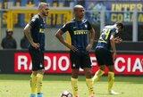 """Trenerio atleidimas nepadėjo """"Inter"""" išlipti iš pralaimėjimų liūno"""