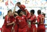 """""""Bayern"""" šventė pergalę, o """"Borussia"""" patyrė pralaimėjimą"""
