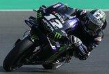 """M.Vinalesas iškovojo pirmą pergalę """"Yamaha"""" komandai šiame sezone, V.Rossi nebaigė trečių lenktynių iš eilės"""
