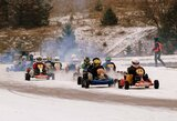 Žiemos sezoną kartingo lenktynininkai pradėjo Aukštadvaryje