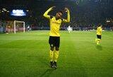 """P.E.Aubameyangas: """"Sulaukiau pasiūlymų, bet liksiu """"Borussia"""" klube"""""""