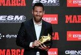"Katalonų talismanas L.Messi: ""Niekada neturėjau poreikio palikti ""Barcelonos"""