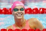 Kaltinimai panaikinti: J.Jefimova keliauja į Rio de Žaneiro olimpiadą