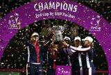 """JAV moterų teniso rinktinė po 17 metų pertraukos iškovojo """"Federacijų"""" taurę"""