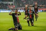 """""""Bayern"""" vietiniame čempionate neatsilaikė prieš """"Bayer"""", """"Borussia"""" susitikimą baigė lygiosiomis"""