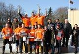 Baltijos žiemos galiūnų čempionate V.Blekaitis ir D.Repšys praleido į priekį latvį