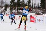 Du Lietuvos slidininkai išmėgino jėgas pasaulio taurėje