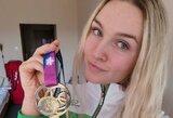 """Europos šiuolaikinės penkiakovės jaunimo čempionė A.Tamašauskaitė: """"Tik nugalėjęs save galėsi įveikti varžovą"""""""