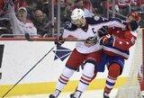 """NHL lyderių mūšyje - dramatiška """"Capitals"""" pergalė"""