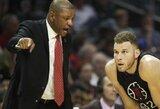 """Apie B.Griffino mainus sužinojęs buvęs NBA žaidėjas vėl sukritikavo """"Clippers"""" trenerį"""