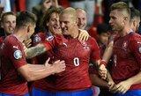 Netikėtumas: čekai išrašė pirmą Anglijos pralaimėjimą EURO2020 atrankoje