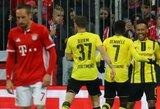 """""""Borussia"""" klubas nugalėjo """"Bayern"""" jų pačių tvirtovėje ir pasiekė taurės finalą"""
