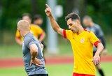 Lietuvos mažojo futbolo čempionate – trijų žirgų lenktynės