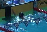 Plaukimo varžybos Vokietijoje baigėsi G.Stankevičiaus ir A.Seleikaitės pergalėmis