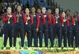 JAV moterys – šeštą kartą iš eilės olimpinės čempionės
