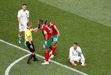 FIFA nuosprendis: teisėjas neprašė C.Ronaldo marškinėlių