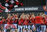 """""""Lietuvos ryto"""" rungtynių lankomumas toliau auga: Europos taurėje nusileista tik vienai komandai"""