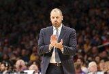 """F.Vogelis dėkojo D.Saboniui už tapimą """"Lakers"""" treneriu"""