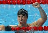18-metė JAV plaukikė antrą kartą per dvi dienas pagerino pasaulio rekordą (+ visi prizininkai)